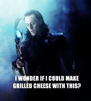 burdened with glorious cheese